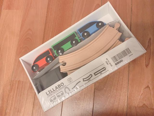子供たちの大好きなIKEAの列車おもちゃ♡LILLABOシリーズ買いました!