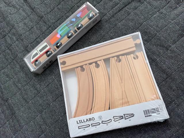 IKEAの列車おもちゃ♡追加しちゃいました!!もっと楽しく遊んじゃおう♪