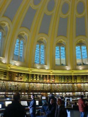 大英博物館図書室