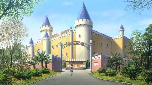 「心が叫びたがってるんだ。」のお城のシーン
