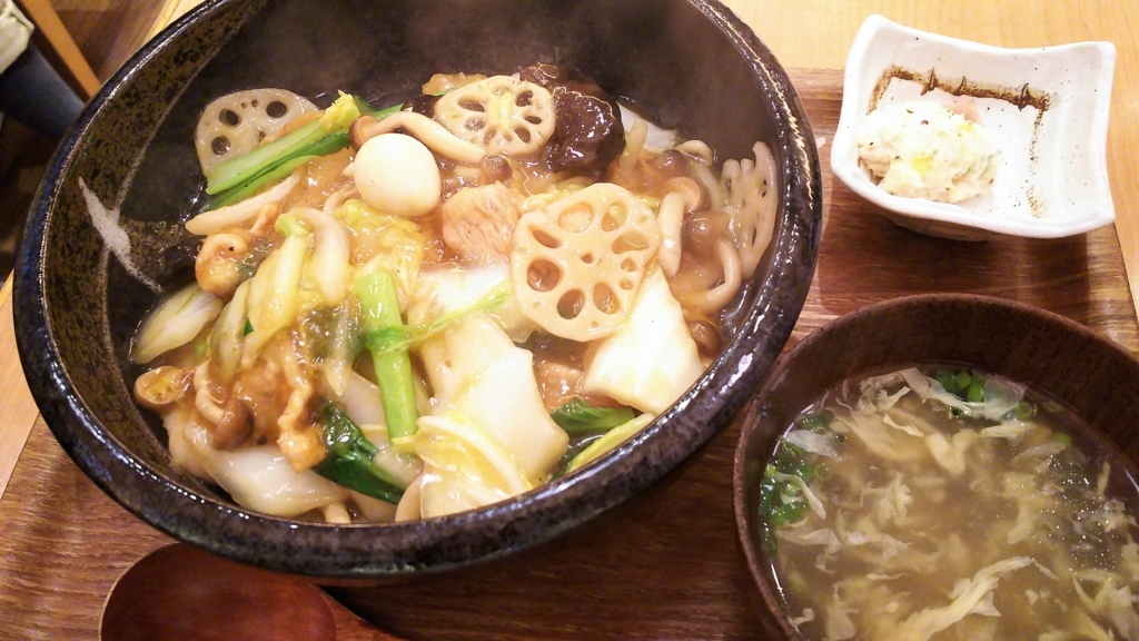 鶴亀飯店 中華丼