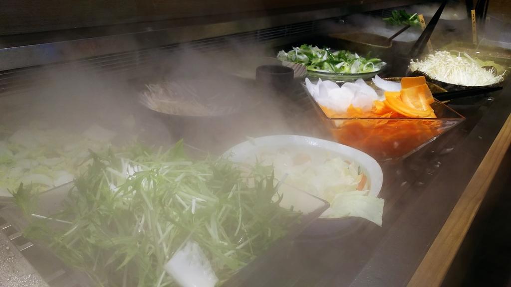 しゃぶ菜野菜コーナー