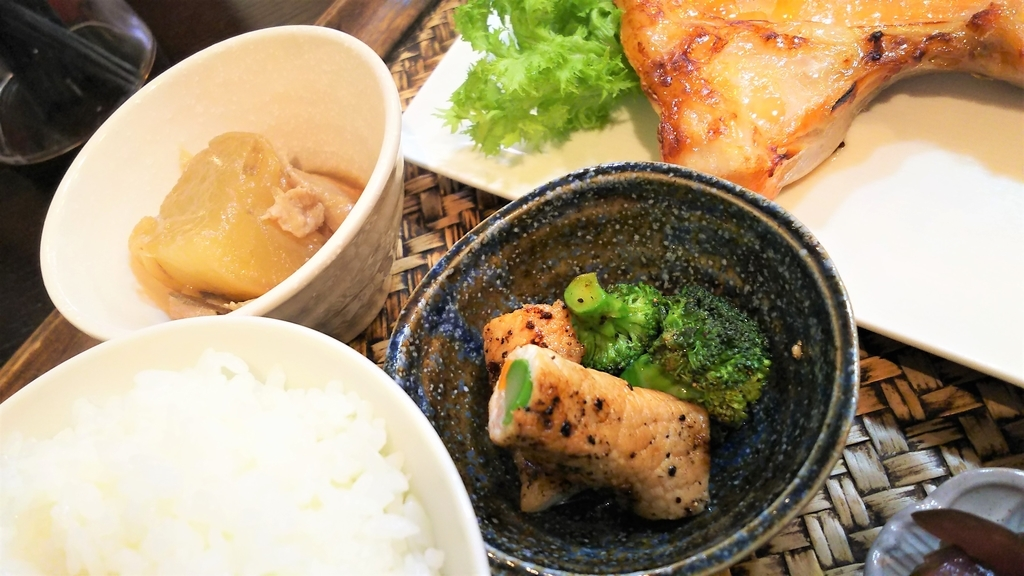 かどのめし屋焼き魚定食小鉢