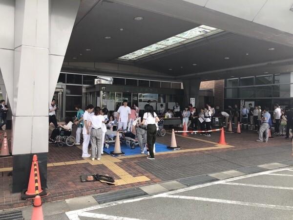 中央医療災害訓練受付外来