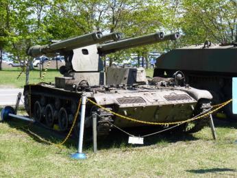 試作車SS-1(改)自走105mm無反動砲