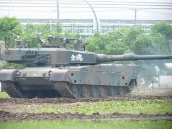 P1010388模擬戦闘展示