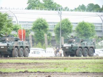 P1010383模擬戦闘展示