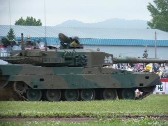 P1010401模擬戦闘展示