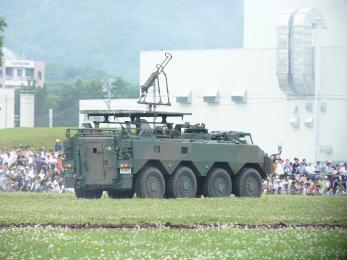 P1010395模擬戦闘展示