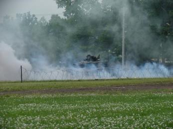 P1010394模擬戦闘展示
