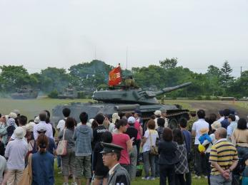 P1010457第1戦車群_本部管理中隊