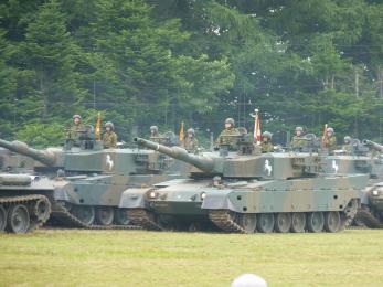 P1010454観閲部隊第72戦車連隊