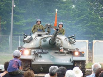 P1010455第1戦車群_本部管理中隊