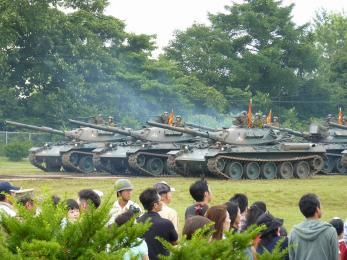 P1010453観閲部隊第1戦車群