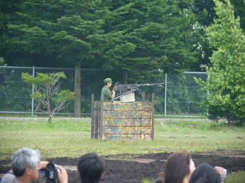 P1010495戦闘訓練展示