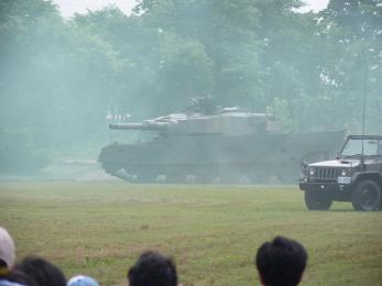 P1010515戦闘訓練展示