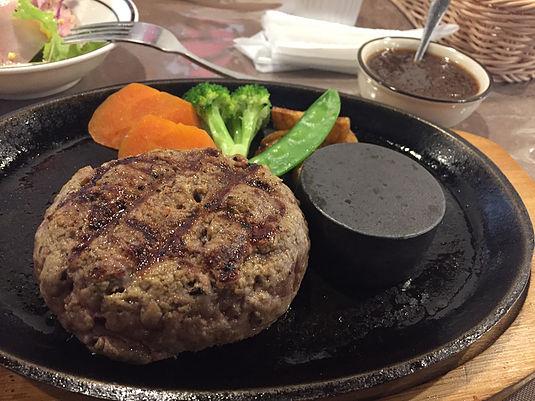 下田キッチンヒロのハンバーグ