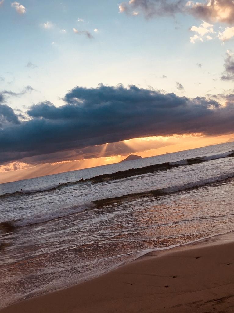2019 初日の出 白浜海岸