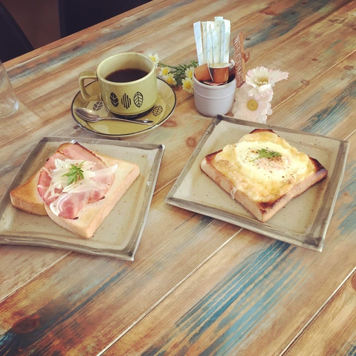 伊豆白浜で朝食 bakecafe niche(ニッチェ)