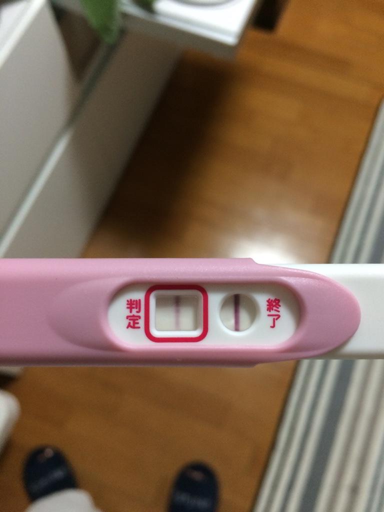 妊娠検査薬 p check pチェック 陽性