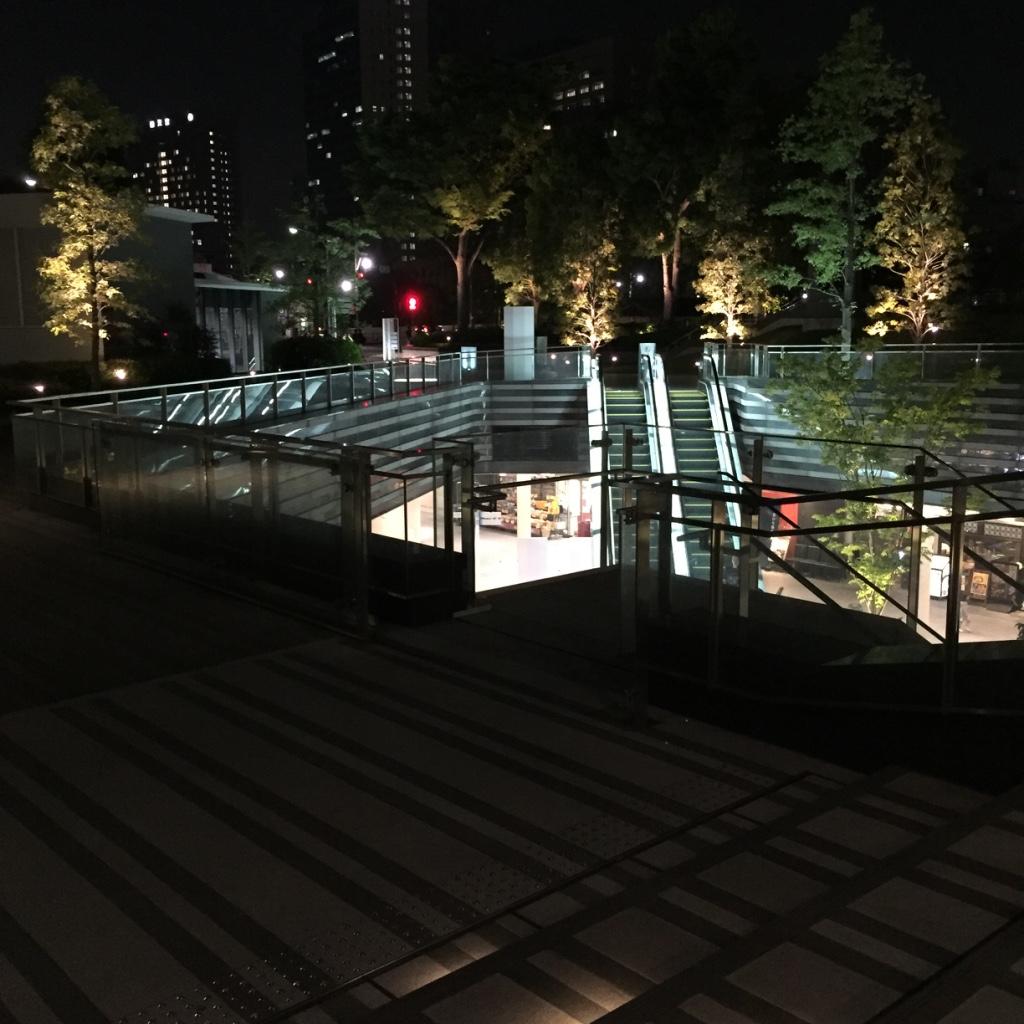 ソラシティの夜景