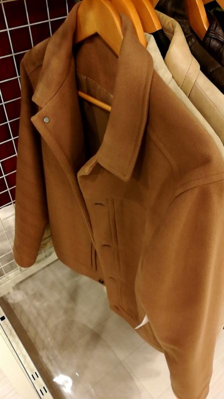 ハーモニーのウールジャケット