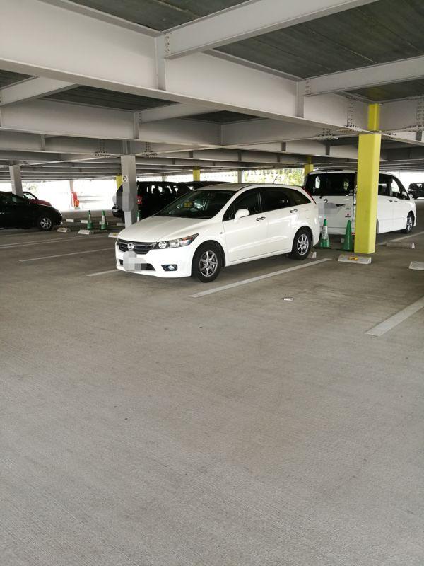テクノプラザおおたに駐車の図