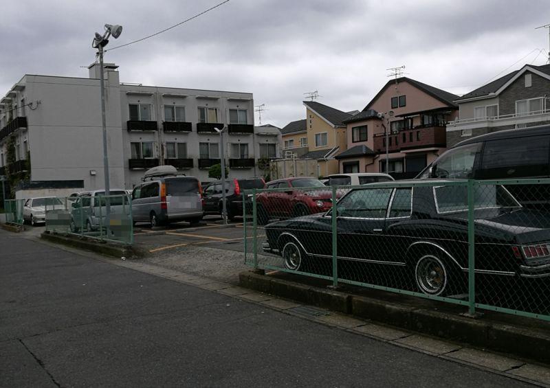 駐車場周辺の様子1