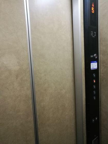 エレベーター内の様子
