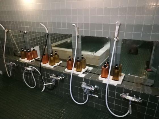 ビジネスホテルあおば 浴室の様子2
