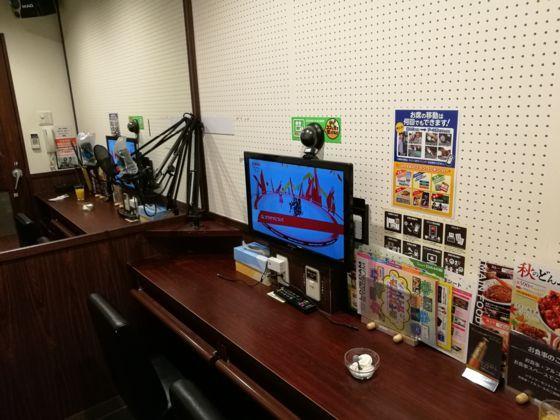 快活クラブ日立店のワンツーカラオケの部屋1