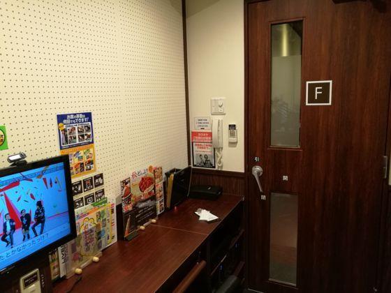 快活クラブ日立店のワンツーカラオケの部屋2