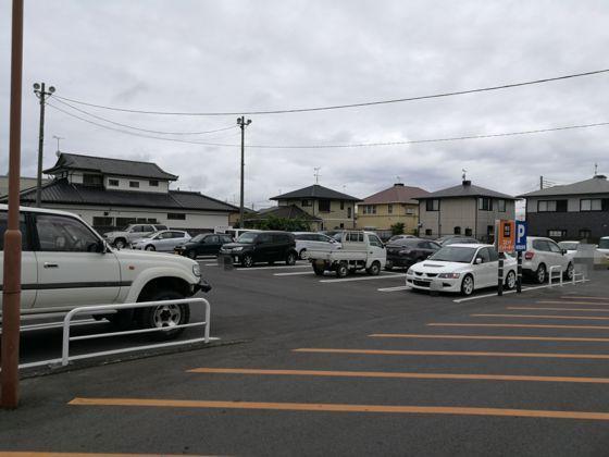 快活クラブひたちなか店の駐車場5