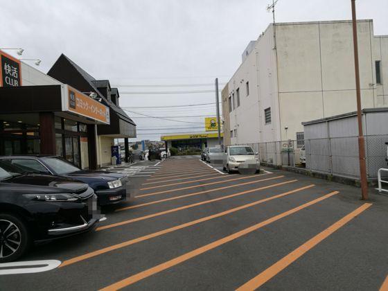 快活クラブひたちなか店の駐車場2