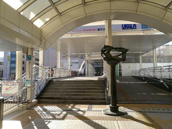 土浦駅からウララまでの道のり3