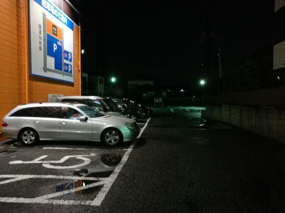 快活クラブ岩槻店の駐車場1