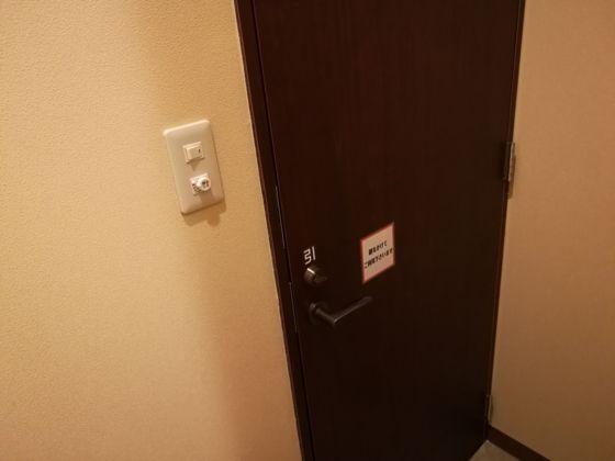 シャワールームの扉