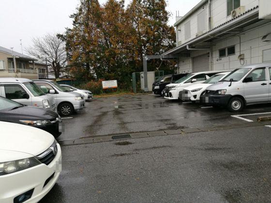 駐車場の様子2