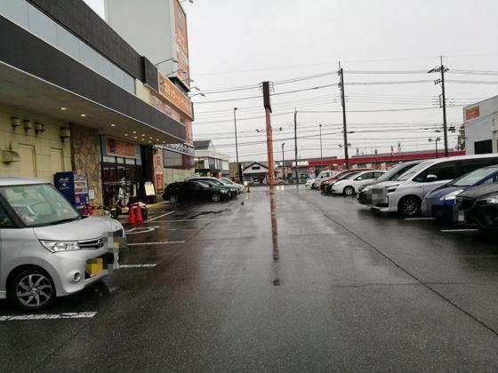 駐車場の様子1