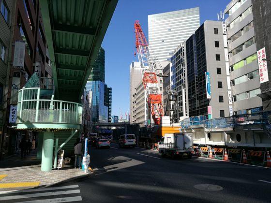 渋谷駅周辺 明治通りの様子