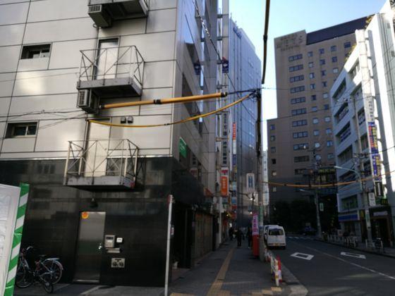 渋谷新南口前