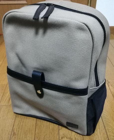 森田鞄 帆布キャンバスリュック