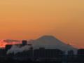 [夕暮れの富士山を見に]