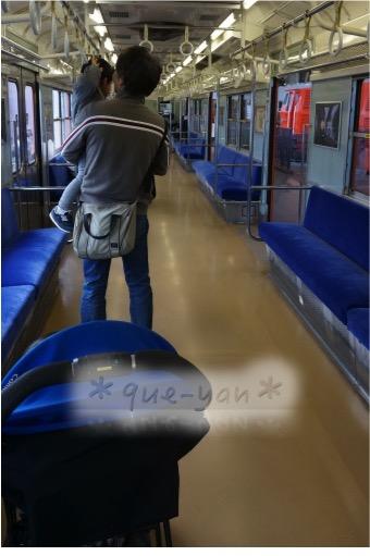 京都鉄道博物館の感想♪とっても楽しかった。大阪環状線空いてる