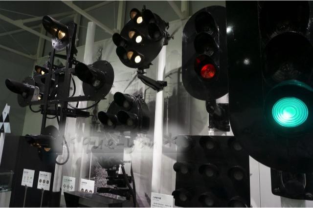 京都鉄道博物館の感想♪とっても楽しかった。信号。