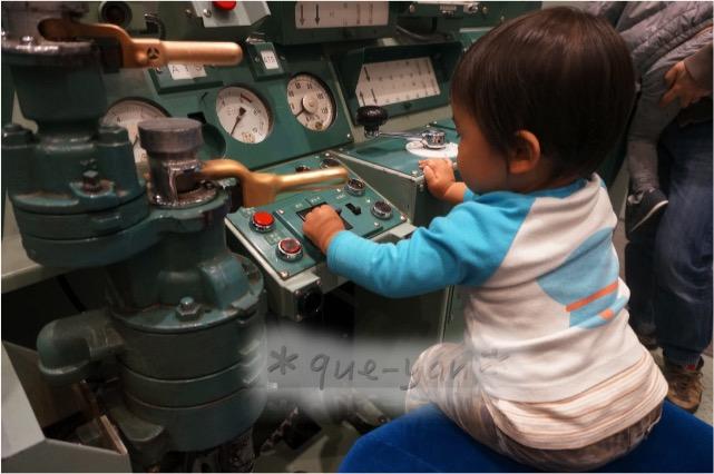 京都鉄道博物館の感想♪とっても楽しかった。運転席