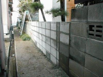 (ブロックの塀修理途中)20積込完了の外部?.JPG