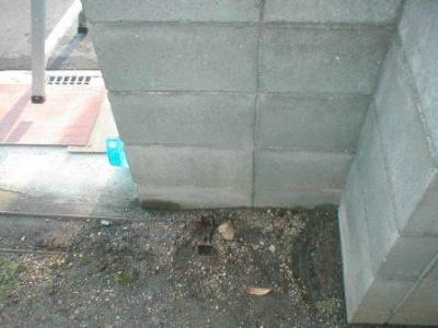 ブロック塀積み替え03解体前アコー門扉撤去後.JPG
