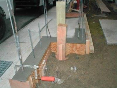 ブロック塀積み替え基礎11カギ型の組み方・止め方.JPG