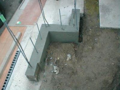 ブロック塀積み替え基礎17型枠バラシ後の埋め戻し前.JPG